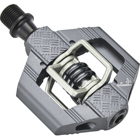 Crankbrothers Candy 2 Pedaler, grey/grey